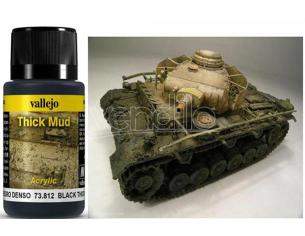 VALLEJO WEATHERING BLACK THICK MUD 40ML 73812 COLORI