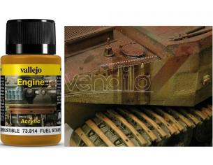 VALLEJO WEATHERING FUEL STAINS 40ML 73814 COLORI
