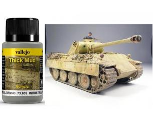 VALLEJO WEATHERING INDUSTR THICK MUD 40ML 73809 COLORI