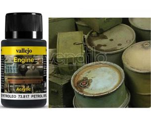 VALLEJO WEATHERING PETROL SPILLS 40ML 73817 COLORI