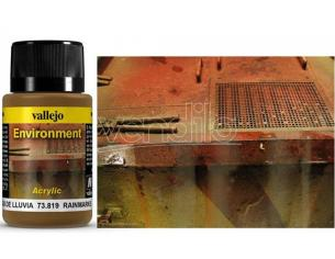 VALLEJO WEATHERING RAINMARKS 40ML 73819 COLORI