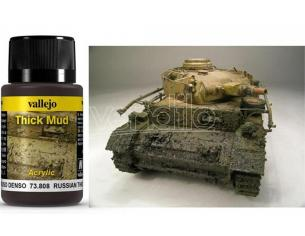 VALLEJO WEATHERING RUSSIAN THICK MUD 40ML 73808 COLORI