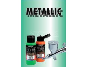 VALLEJO PREMIUM AIRBRUSH METALLIC GREEN 62047 COLORI