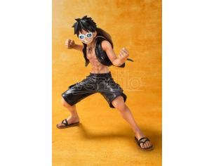 BANDAI ONE PIECE ZERO MONKEY D. LUFFY FILM GOLD FIGURA