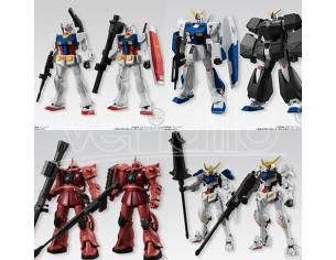 BANDAI SHOKUGAN GUNDAM UNIVERSAL UNIT DISPLAY (10) MINI FIGURA