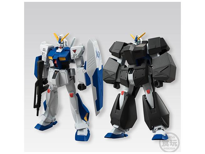 Bandai Shokugan Gundam Universal Unit Display (10) Kit Mini Figura