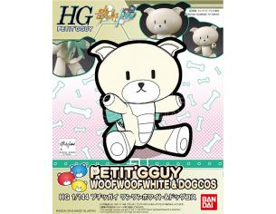BANDAI MODEL KIT HG PETIT'GGUY WOOFWOOFW & DOGCOS 1/144 MODEL KIT