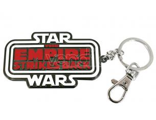 SD TOYS SW EMPIRE STRIKES BACK LOGO METAL KEYCH PORTACHIAVI