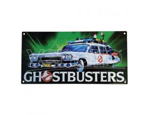Factory Entertainment GHOSTBUSTERS ECTO 1 METAL SIGN POSTER