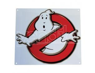 Factory Entertainment GHOSTBUSTERS NO GHOSTS LOGO METAL SIGN POSTER