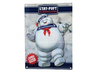 Factory Entertainment GHOSTBUSTERS STAY PUFT METAL SIGN POSTER