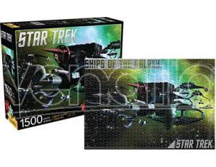 AQUARIUS ENT STAR TREK SHIPS O/T GALAXY 1500 PCS PUZZ PUZZLE