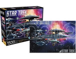 AQUARIUS ENT STAR TREK SHIPS O/T LINE 1500 PCS PUZZLE PUZZLE