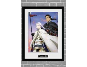 GB EYE THE LEGEND OF ARSLAN EMBERS PRINT STAMPA CON CORNICE