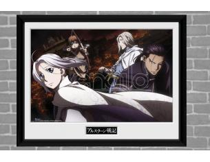 GB EYE THE LEGEND OF ARSLAN GROUP PRINT STAMPA CON CORNICE