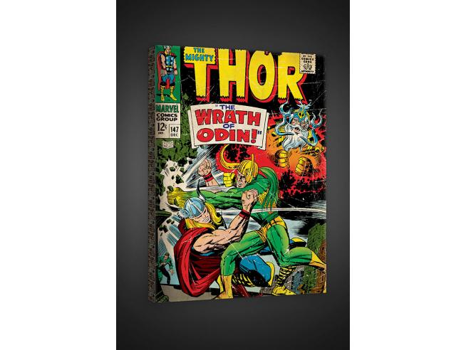 FOR WALLS CANVAS THOR STAMPA SU TELA