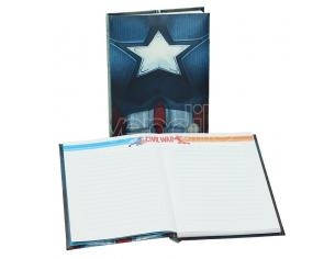 SD TOYS CAPTAIN AMERICA CW CHEST NOTEBK W/LIGHT TACCUINO