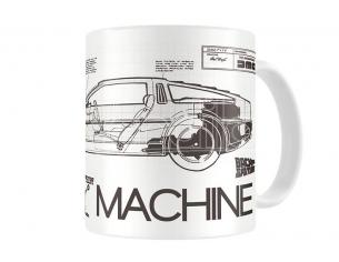 BACK TO THE FUTURE TIME MACHINE CERAMIC MUG TAZZA