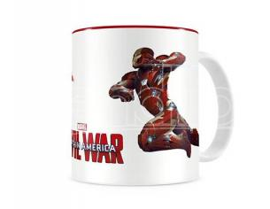 SD TOYS CIVIL WAR DUEL WHITE/RED MUG TAZZA