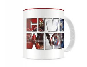 SD TOYS CIVIL WAR THERMAL CHANGING MUG TAZZA