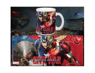 SEMIC CAPTAIN AMERICA CW CHOOSE YOUR SIDE MUG TAZZA