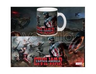 Semic Captain America Cw Final Battle Tazza