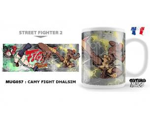 NEKOWEAR STREET FIGHTER CAMY FIGHT DHALSIM MUG TAZZA