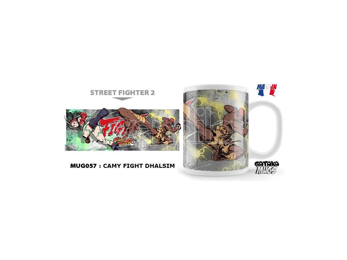 Nekowear Street Fighter Camy Fight Dhalsim Tazza