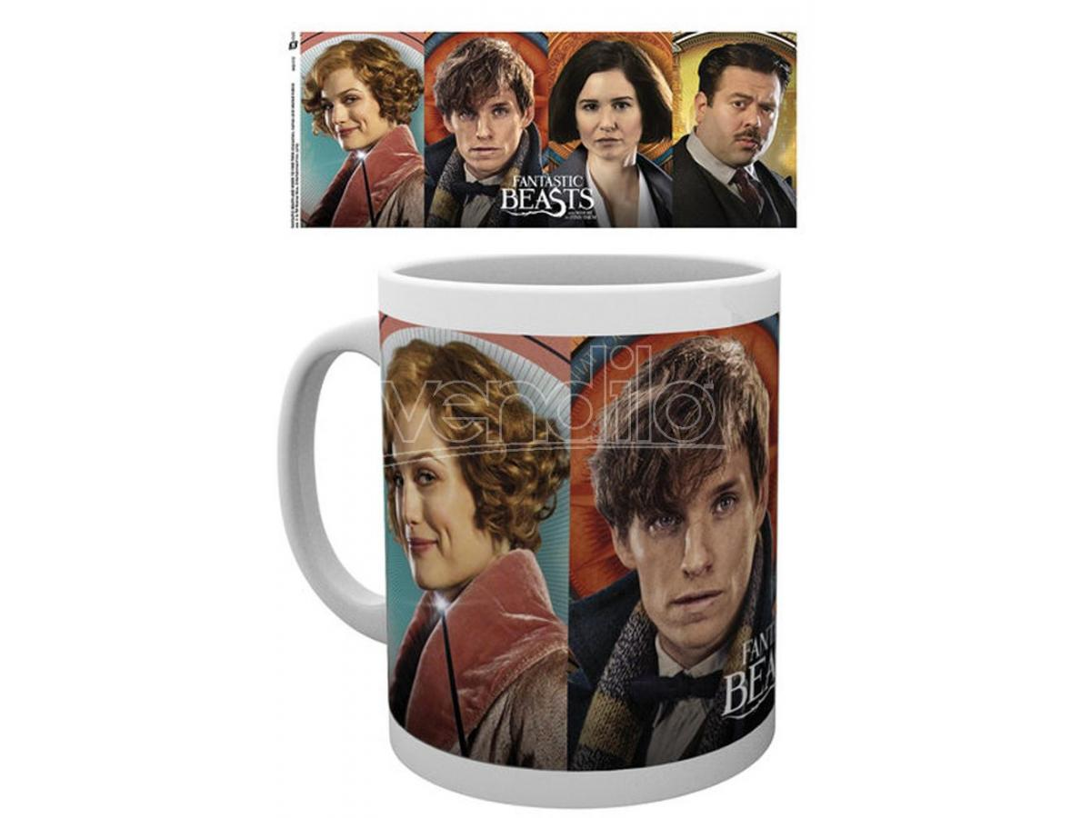 GB EYE HP FANTASTIC BEASTS CHARACTERS MUG TAZZA
