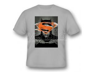 2BNERD T-SHIRT BATMAN V SUPERMAN BATMAN POSTER TAGLIA S T-SHIRT