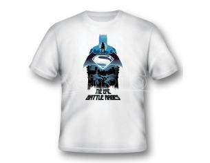 2BNERD T-SHIRT BATMAN V SUPERMAN EPIC BATTLE RAGES TAGLIA S T-SHIRT