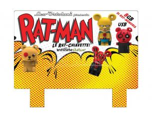 INFINITE ESPOSITORE USB FLASH DRIVE 8GB RATMAN(16 USB