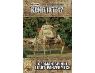 WARLORD GAMES KONFLIKT 47 GERM SPINNE LIGHT PANZERMECH WARGAME