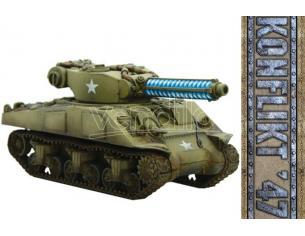 WARLORD GAMES KONFLIKT 47 US M4A9-T SHERMAN W TESLA WARGAME