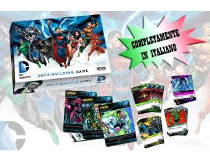 CRYPTOZOIC COSMIC GAMES DC COMICS DECK BUILDING GAME ITALIANO GIOCO DA TAVOLO