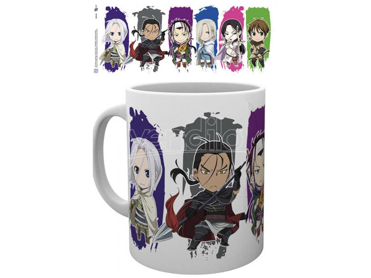 GB EYE THE LEGEND OF ARSLAN CHIBI MUG TAZZA
