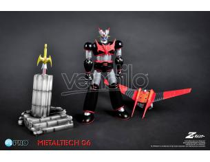 High Dream Mazinger Z Metallotech 06 Black Ver Action Figure