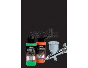 VALLEJO PREMIUM AIRBRUSH BLACK 62020 COLORI