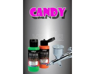 VALLEJO PREMIUM AIRBRUSH CANDY BLACK 62079 COLORI
