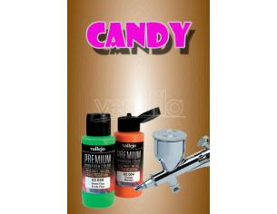 VALLEJO PREMIUM AIRBRUSH CANDY BROWN 62078 COLORI