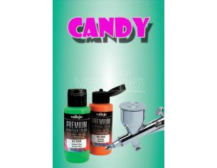 VALLEJO PREMIUM AIRBRUSH CANDY RACNG GREEN 62077 COLORI