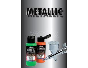 VALLEJO PREMIUM AIRBRUSH METALLIC BLACK 62053 COLORI