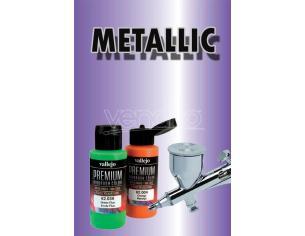 Vallejo Premium Airbrush Metallolic Violet 62045 Colori