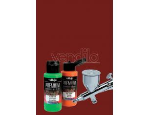 VALLEJO PREMIUM AIRBRUSH RAW SIENNA 62017 COLORI