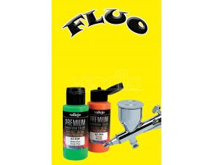 VALLEJO PREMIUM AIRBRUSH YELLOW FLUO 62031 COLORI