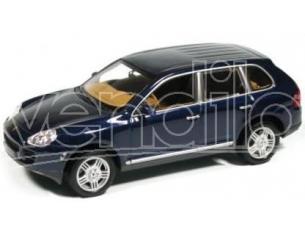 Minichamps 400061000 PORSCHE CAYENNE S BLU 2002 1:43 Modellino Scatola rovinata