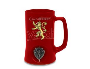 SD TOYS GAME OF T LANNISTER SPIN LOGO RED STEIN BOCCALE