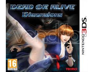 DEAD OR ALIVE DIMENSIONS PICCHIADURO - NINTENDO 3DS