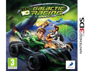 BEN 10 GALACTIC RACING GUIDA/RACING - NINTENDO 3DS