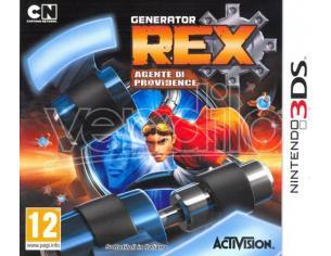 GENERATOR REX AGENTE DI PROVIDENCE AZIONE AVVENTURA - NINTENDO 3DS